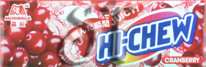 Cranberry Hi-Chew pack image